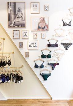 Simple Ways To Organize Your Lingerie Ideas De Boutique, Boutique Decor, Boutique Interior, Boutique Design, Shop Interior Design, Retail Design, Lingerie Store Design, Boutique Lingerie, Lingerie Storage
