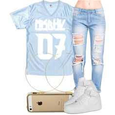 4|4|15 by miizz-starburst on Polyvore featuring polyvore, fashion, style, NIKE and ASOS