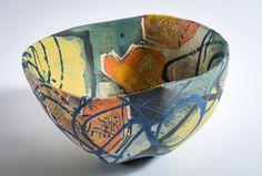 Ceramics - Carolyn Genders click the image or link for more info. Ceramic Pots, Ceramic Decor, Ceramic Design, Ceramic Pottery, Modern Ceramics, Contemporary Ceramics, Ceramic Painting, Ceramic Artists, Pottery Techniques