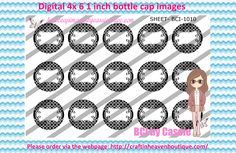 1' Bottle caps (4x6) digital editable BCI-1010   PLEASE VISIT http://craftinheavenboutique.com/AND USE COUPON CODE thankyou25 FOR 25% OFF YOUR FIRST ORDER OVER $10! #bottlecap #BCI #shrinkydinkimages #bowcenters #hairbows #bowmaking #ironon #printables #printyourself #digitaltransfer #doityourself #transfer #ribbongraphics #ribbon #shirtprint #tshirt #digitalart #diy #digital #graphicdesign please purchase via link http://craftinheavenboutique.com