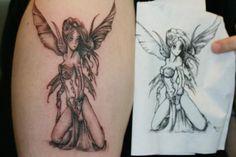 Butterfly Fairy Wings Tattoo Fairy