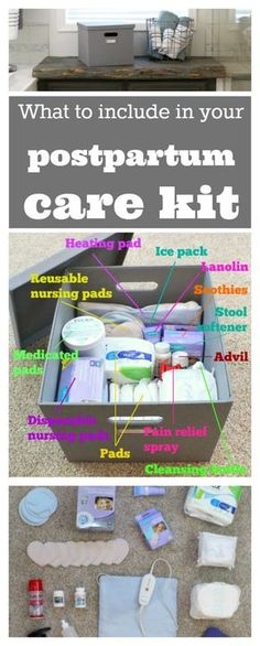 Check with your hospital what they provide first, but this is a great guide of supplies to have on hand for postpartum