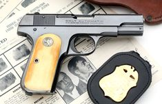 Colt Pistols and Revolvers for Firearms Collectors - Gun of the Month - August 2016