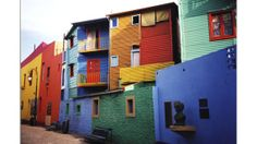 La Boca, Buenos Aires, Argentina – La Boca is a neighborhood in Buenos Aires, the home of world famous football club Boca Juniors. It is a popular destination for tourists visiting Argentina with its colorful houses and pedestrian streets, the Caminitos. Resorts, Argentine Buenos Aires, Oh The Places You'll Go, Places To Visit, Southern Cone, Wow Travel, Argentina South America, Iguazu Falls, Cinque Terre