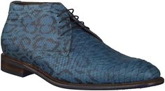 Blauwe Floris van Bommel Geklede schoenen
