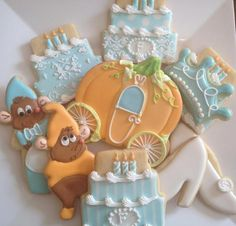 Cinderella cookies A Dream is a Wish Your Heart Makes