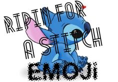 Repin for a Stitch Emoji yes yes forever repinning