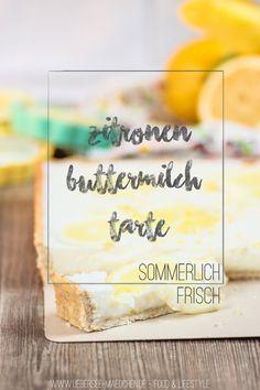 Zitronen-Buttermilch-Tarte | Citrus-Buttermilk-Tarte via ÜberSee-Mädchen - Ein Blog über Food, Photographie & die schönen Dinge