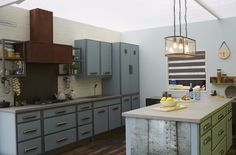 'Beautility kitchen' by Good Homes Magazine at Ideal Home Show, London 2016 Ideal Home Show, London 2016, House And Home Magazine, Home Goods, Kitchen Cabinets, Homes, Home Decor, Restaining Kitchen Cabinets, Homemade Home Decor