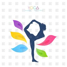yoga silhouettes digital clipart commercial use ok yoga graphics rh pinterest com free yoga clipart images free clipart yoga poses