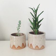 Hanging planters, Planters and Triangles