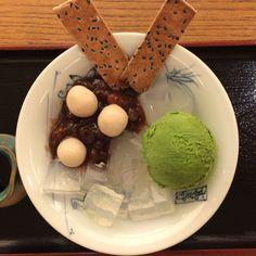餡蜜anmitsu sweets
