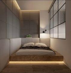 Trendy Bedroom Design For Couples Apartment Beds 56 Ideas Design Apartment, Apartment Interior, Bedroom Apartment, Home Bedroom, Bedroom Furniture, Bedroom Ideas For Couples Grey, Couple Bedroom, Loft Interior, Luxury Interior