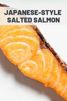 Japanese-Style Salted Salmon (Shiozake)   Americans are familiar with Japanese lunch and dinner staples like ramen, teriyaki, and, of course, sushi, but breakfast is a little more obscure. One common part of a Japanese breakfast is shiozake, or salted salmon. Making real shiozake is an intricate process, but this simple curing recipe will get you close.  #seafood #seafoodrecipes #seafooddishes #howtocookseafood #seriouseats #recipes