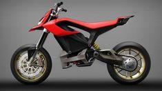 Ducati Electric Bike | #cool #future #futurism #ducati #electric #ev #motorcycle #motorbike