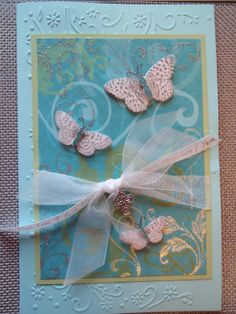 Religious card - fun with scrapbook paper