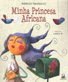 """Meu primeiro trabalho de ilustração para livros infantis! Estou muito feliz com esse projeto!!! Muito obrigada Márcio Vassallo (o querido escritor dessa história maravilhosa!) e muito obrigada editora Abacatte! Foi maravilhoso trabalhar com vocês! Os bonecos, os cenários e fotos do livro foram feitos por mim! Aqui estão apenas algumas páginas. Para ver o resto, só comprando! :P  """"Minha Princesa Africana"""" apresenta a história de um jovem brasileiro e sua grande paixão por Marinela, uma…"""