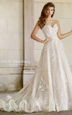 Courtesy of Mon Cheri wedding dresses Martin Thornburg collection