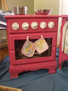 oven for little girl. DIY project