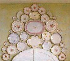 Dramatic way to display plates