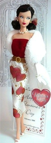 Valentine Barbie#Repin By:Pinterest++ for