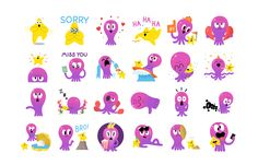The awesome people at INT Works commissioned us to create an animated sticker pack for the new Google messaging app Allo. The theme for our pack is FRIENDSHIP, these are the stickers that people should use with their best friends, people that love each ot…