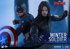 Marvel Winter Soldier Sixth Scale Figure by Hot Toys | Sideshow Collectibles