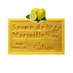 ✭  Savon de Marseille citron jaune 125g - Exfoliant doux gommage de la peau ✭ Savon de Marseille EXFOLIANT au citron, à la fragrance vivifiante et fraîche du citron.