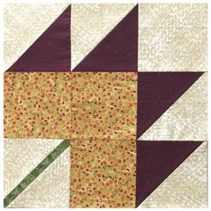 Quilt in a Day Maple Leaf Block (PQ1508)
