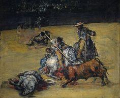 Goya en El Prado: Corrida de toros