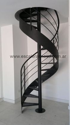 escalera caracol con cinta nº24 Venta de Escaleras y Barandas - Novo Design