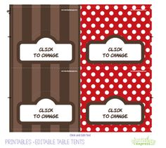 FREE PRINTABLE #sock #monkey #foodlabels #birthday #kids #party #printable @David Dahlquist Express