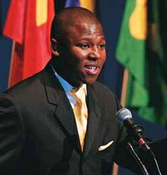 Prince Cedza Dlamini of Swaziland (born 1976) grandson of King Sobhuza II of Swaziland and grandson of Nelson Mandela, is a humanitarian and youth activist. Cedza is the third son of eight children born to HRH Prince Thumbumuzi Dlamini of Swaziland, MBA, born 1950, a son of the late King Sobhuza II and an elder brother of the reigning king of Swaziland Mswati III. His father married Zenazi Mandela born 1958, elder daughter of Nelson Mandela and his second wife, Winnie Mandela.
