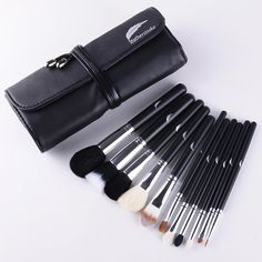 Get the low down on our premium makeup brush set.  http://myvpages.co/6438  #makeupbrushes #makeupbrushsets affordablemakeupbrushsets #powderbrush #foundationbrush #eyemakeupbrushes