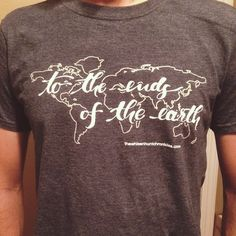 My favorite project to be a part of so far! These shirts are for sale to help fund @calliewhiz and her husband's missionary training with Radius International.   They are just $15! To order email phoebe.thomas@gmail.com
