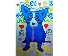 George Rodrigue Metal 3-13 Painting for sale, painting