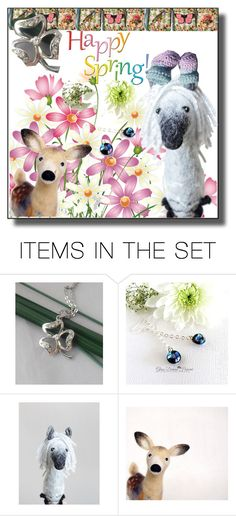 """""""Etsy Spring Time"""" by sabine-713 ❤ liked on Polyvore featuring art"""