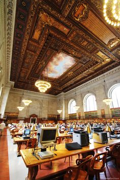 New York Central Library