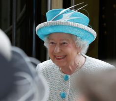 The Queen arrives in Lancaster at the start of a day of visits which included Lancaster Castle and Myerscough College, 29 May 2015