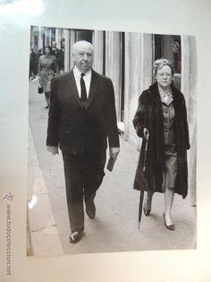 Alfred Hithcock en todocoleccion: Alma Reville - foto b/n original prensa 20 x 25