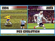 PES evolution [1994 - 2019] - YouTube Ps4 Android, Free Pc Games, Pro Evolution Soccer, Soccer Games, Xbox One, Baseball Cards, Youtube, App, Apps