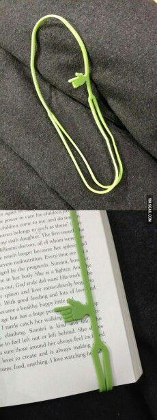Marca páginas e linhas.