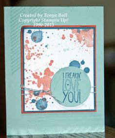 Stylin' Stampin' INKspiration: Quick and Easy Cards, Tonya Ball, Stampin Up!, Gorgeous Grunge, Yippie-Skippie