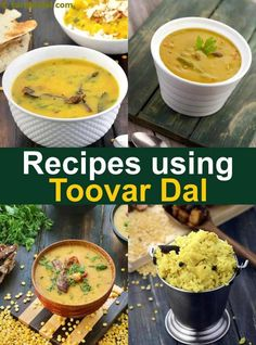 South-Indian recipes using Toor Dal