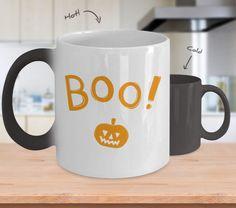Color changing Halloween Mug  #gift#halloween #ColorChangingMug $19.95