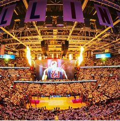 Cavs Championship, Quicken Loans Arena, Kevin Love, Basketball Teams, Lebron James, Cleveland, Ohio, Sports, Image