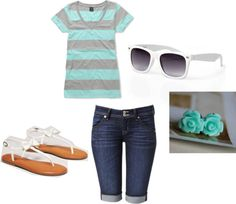 """Summer Outfit"" by beccapurples ❤ liked on Polyvore"