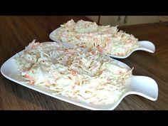 Beyaz lahana salatasi nasil yapilir-Coleslaw-Krautsalat-Hatice Mazi - YouTube