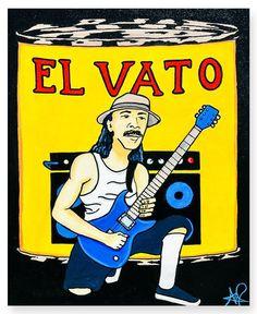 'El Vato - Carlos' Buy Now from Chimmaya