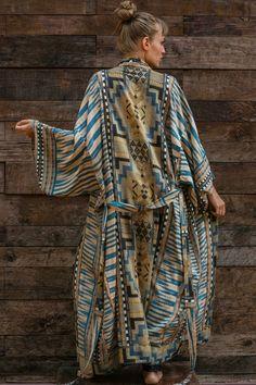 Ethnic Boho Long Sleeve Beach Kimono – Chic Boho Style Boho Dress Plus Size, Plus Size Beach Wear, Plus Size Dresses, Beach Kimono, Summer Kimono, Summer Cardigan, Nautical Fashion, Boho Fashion, Nautical Style